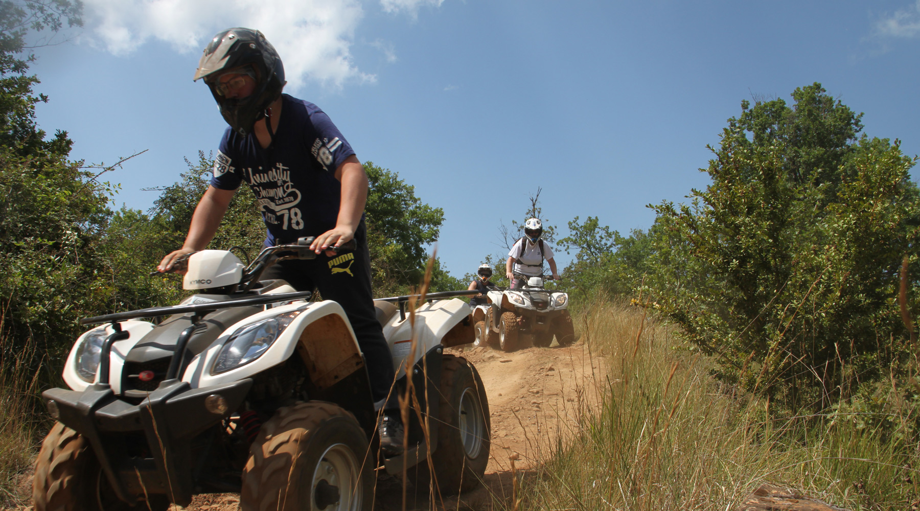 Quad adolescents et Initiation Quad